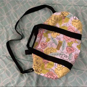 Benefit Cosmetics Canvas Duffel Bag